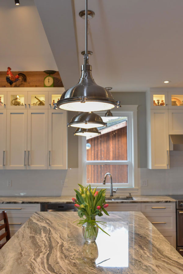 Kitchen potlights and interior cabinet lighting installed by Inline Electric, Sunshine Coast Electrician