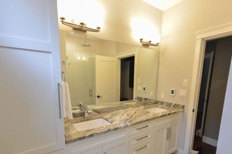 Bathroom Vanity lighting, installed by Inline Electric, Sunshine Coast Electrician