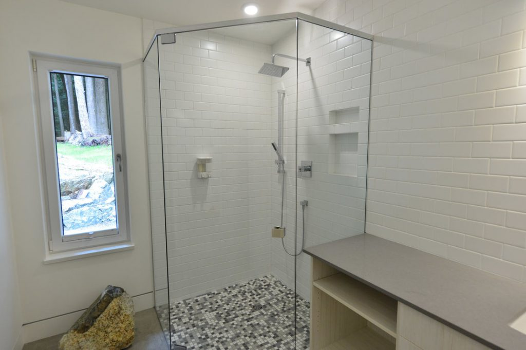 Shower potlights,  installed by Inline Electric, Sunshine Coast Electrician